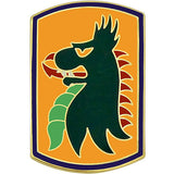 455th Chemical Brigade Combat Service Identification Badge