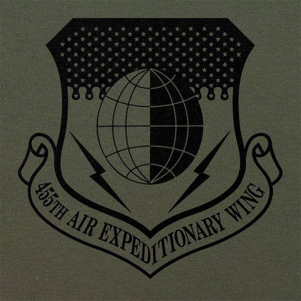 455th Air Expeditionary Wing Subdued Patch T-Shirt