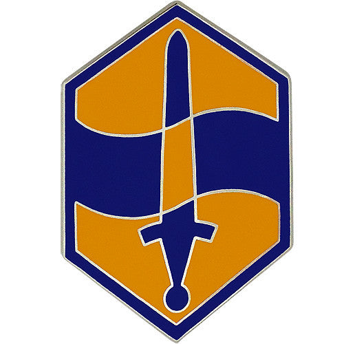 460th Chemical Brigade Combat Service Identification Badge