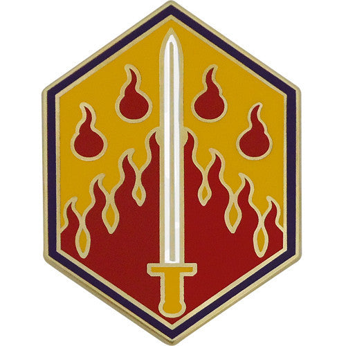 48th Chemical Brigade Combat Service Identification Badge