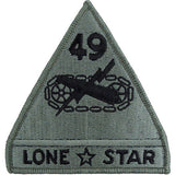 49th Armored Division ACU Patch