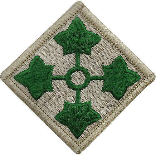 4th Infantry Division Class A Patch