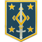 4th Maneuver Enhancement Brigade Combat Service Identification Badge