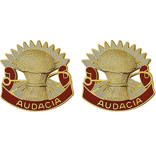 4th ADA (Air Defense Artillery) Unit Crest (Audacia)