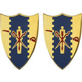 4th Cavalry Regiment Unit Crest (No Motto)