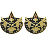 4th Cavalry Brigade Unit Crest (Train For Combat)