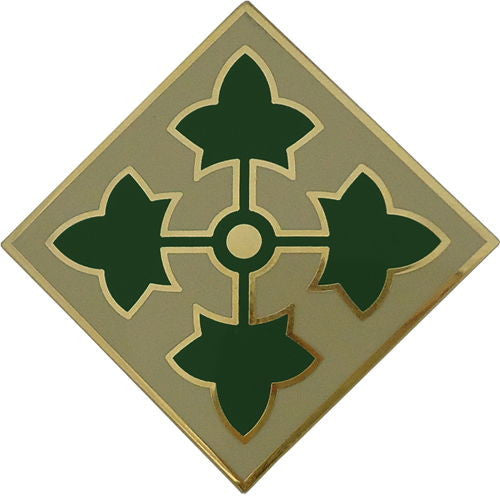 4th Infantry Division Combat Service Identification Badge