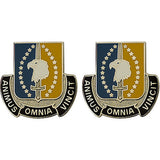 4th Maneuver Enhancement Brigade Unit Crest (Animus Omnia Vincit)