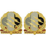 4th Psychological Operations Group Unit Crest (Verbum Vincet)