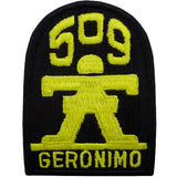 509th Infantry (Geronimo) Class A Patch