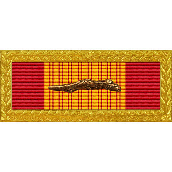 Republic of Vietnam Gallantry Cross Unit Citation - Army Frame