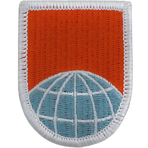55th Signal Company Beret Flash