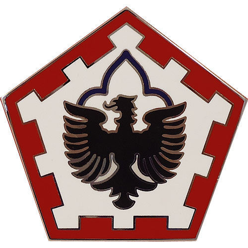 555th Engineer Group Combat Service Identification Badge