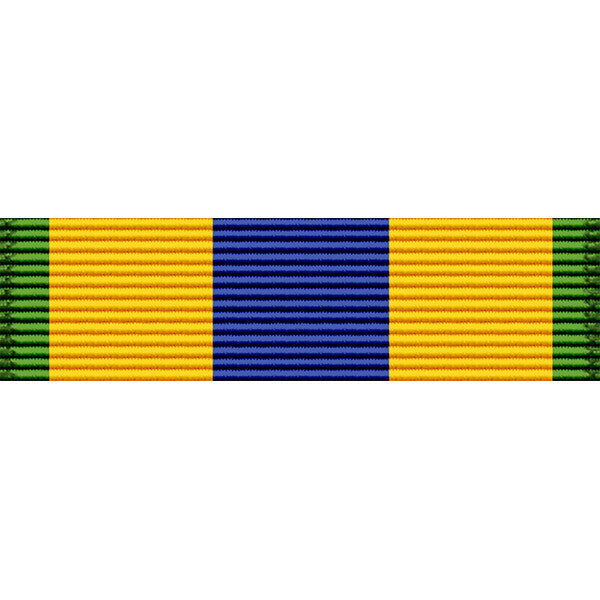 Mexican Service Medal Ribbon - Navy