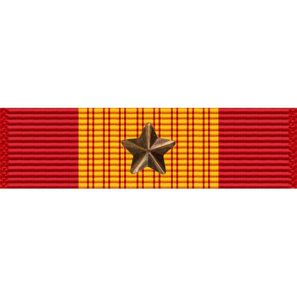 Republic of Vietnam Gallantry Cross Medal w/ Bronze Star Ribbon