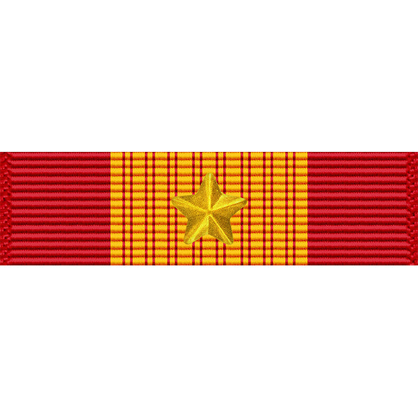Republic of Vietnam Gallantry Cross Medal w/ Gold Star Ribbon