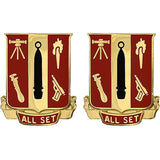 5th Ordnance Battalion Unit Crest (All Set)