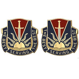 5th Personnel Services Battalion Unit Crest (The Best Serving the Best)