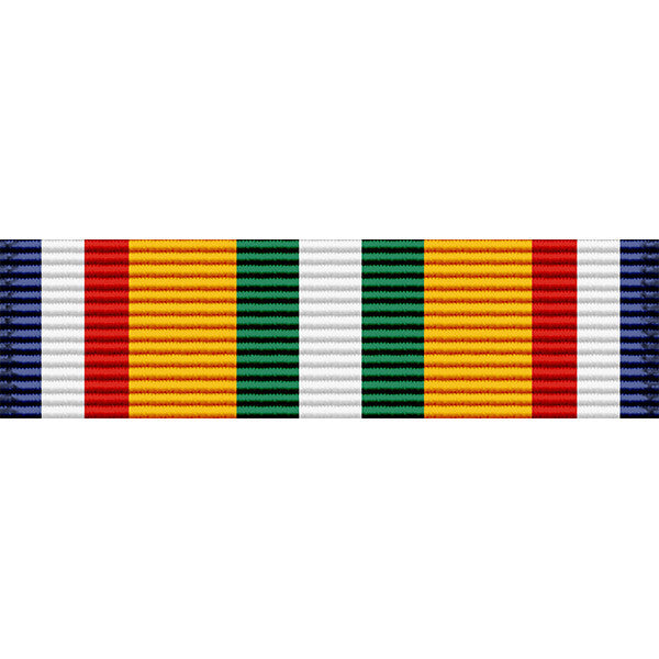 Merchant Marine Mediterranean-Middle East War Zone Medal Ribbon