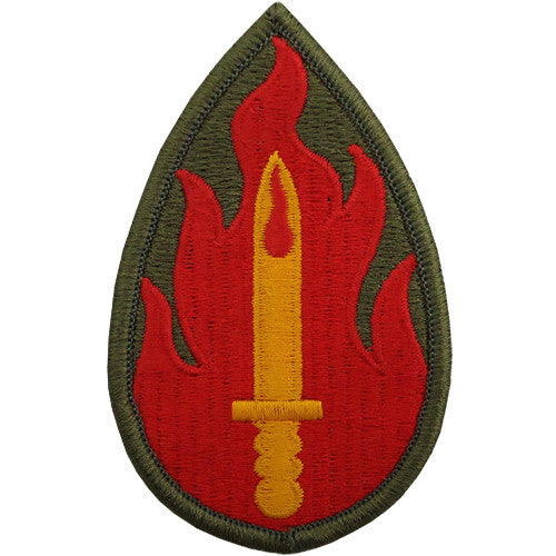 63rd Infantry Division Class A Patch