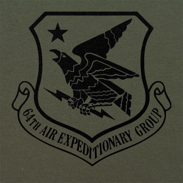 64th Air Expeditionary Group Subdued Patch T-Shirt