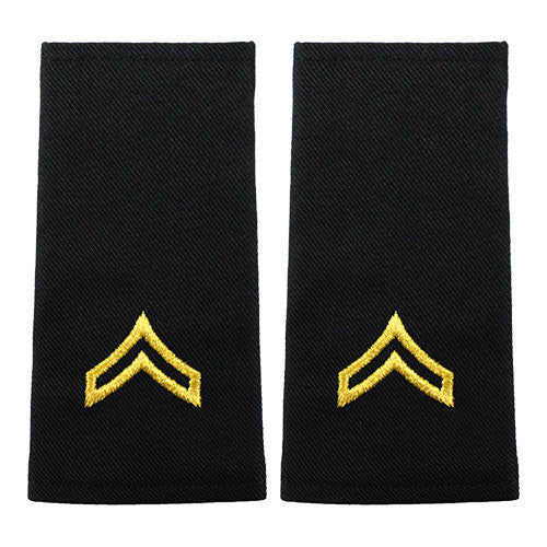 Small Size Epaulets - E-4 Corporal