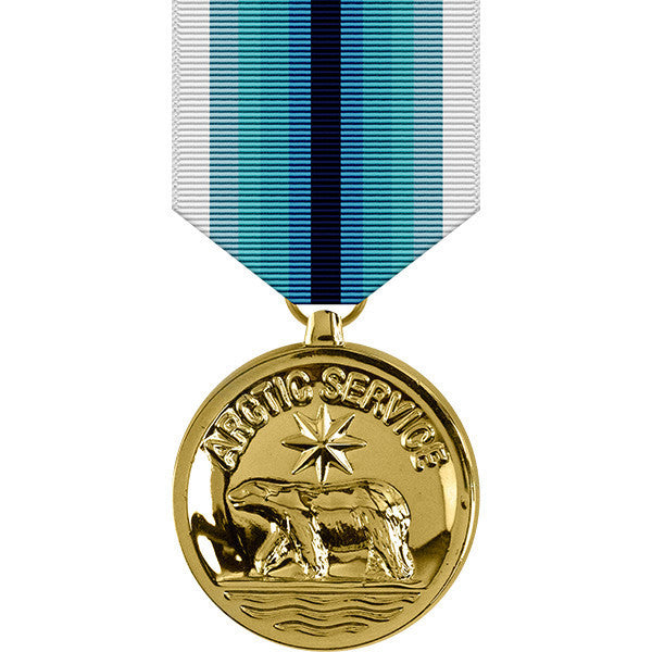 Coast Guard Arctic Service Anodized Medal