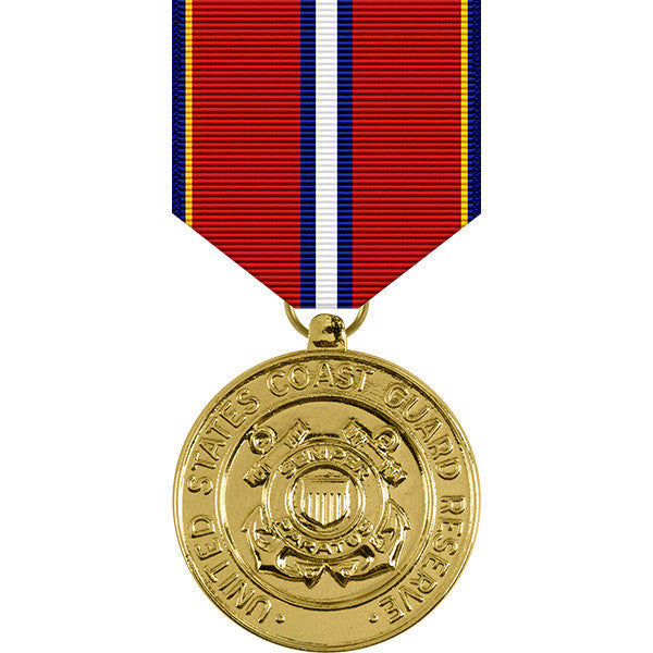 Coast Guard Reserve Good Conduct Anodized Medal