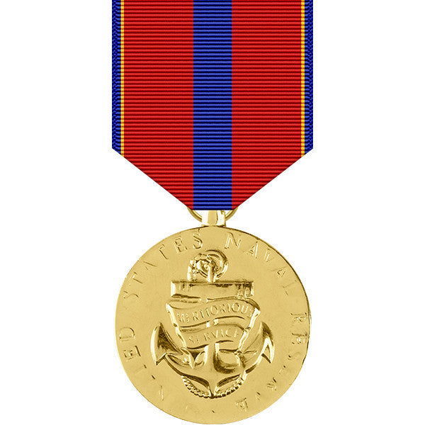 Naval Reserve Meritorious Service Anodized Medal