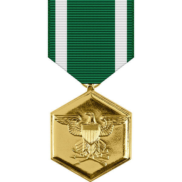 Navy & Marine Corps Commendation Anodized Medal