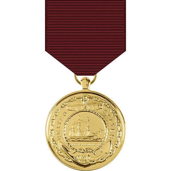 Navy Good Conduct Anodized Medal