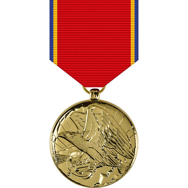 Navy Reserve Anodized Medal
