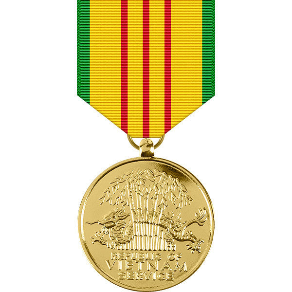 Vietnam Service Anodized Medal