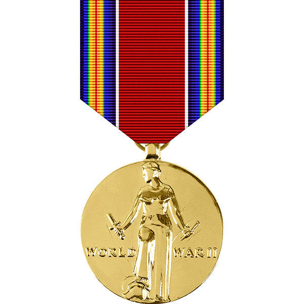 World War II Victory Anodized Medal