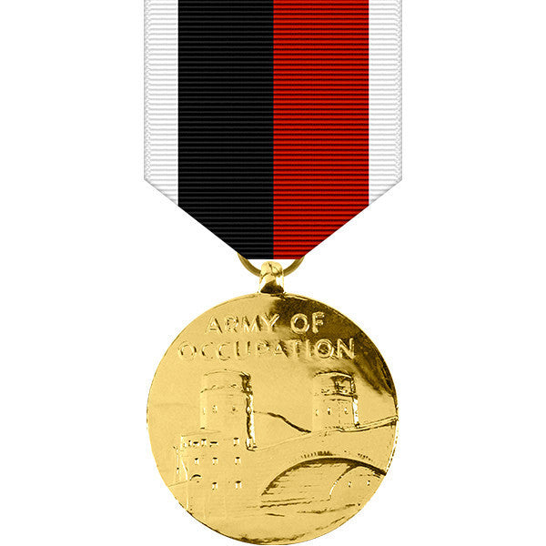 World War II Army of Occupation Anodized Medal