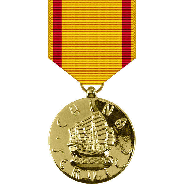 Navy China Service Anodized Medal