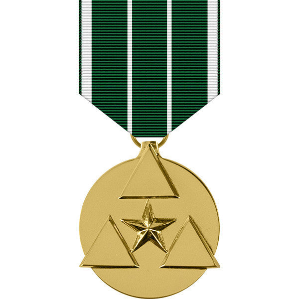 Army Commanders Award for Civilian Service Anodized