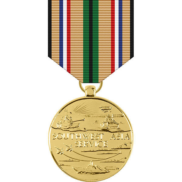 Southwest Asia Service Anodized Medal