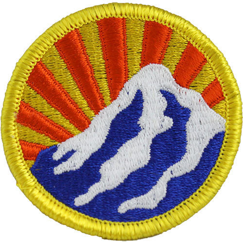 Montana National Guard Class A Patch