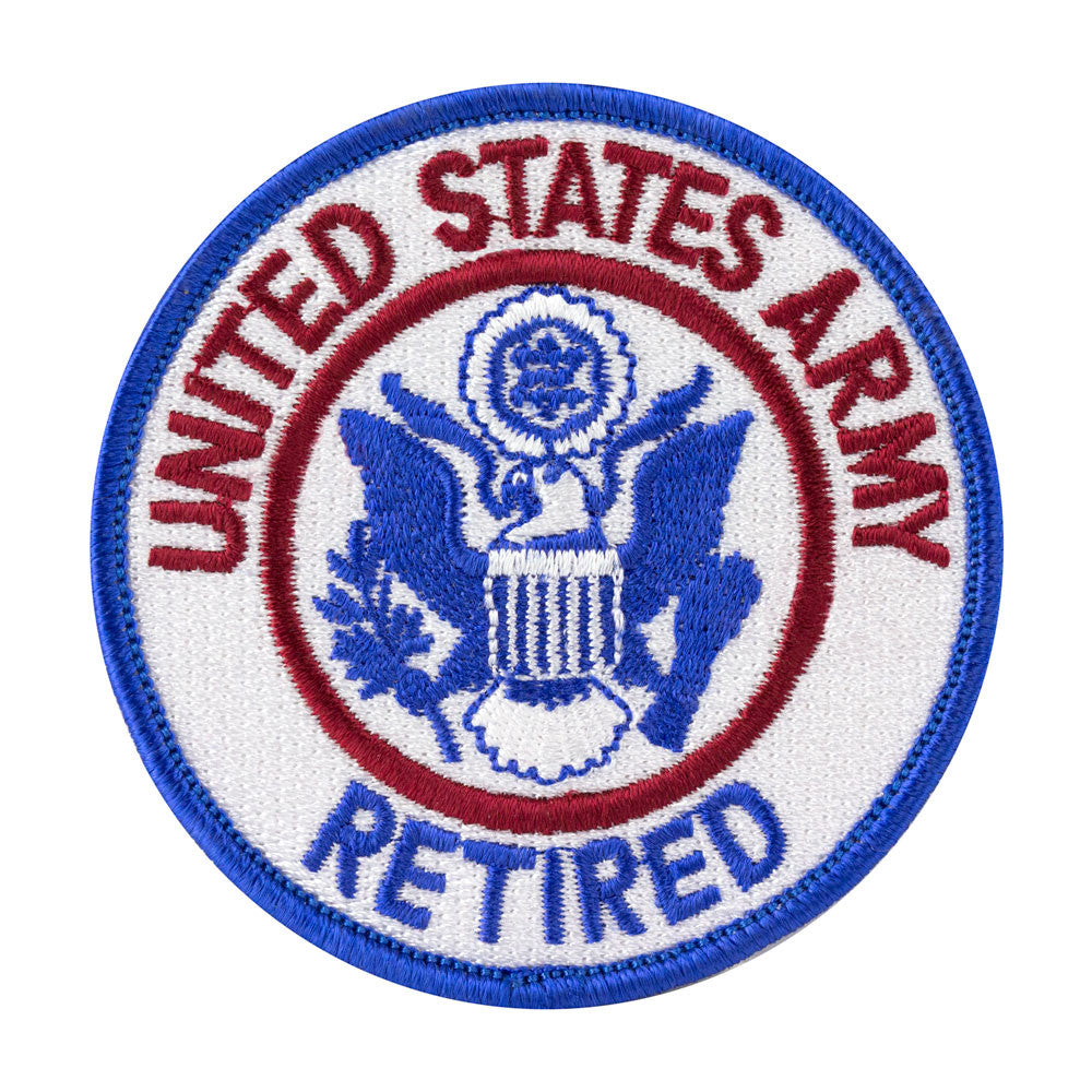 Army Retired Class A Patch