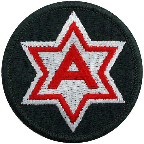 6th Army Class A Patch