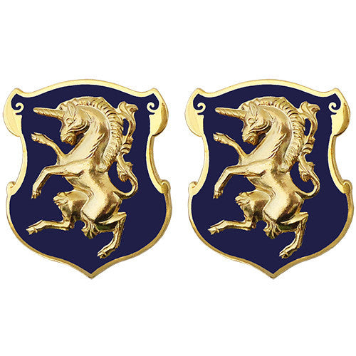 6th Cavalry Regiment Unit Crest (No Motto)