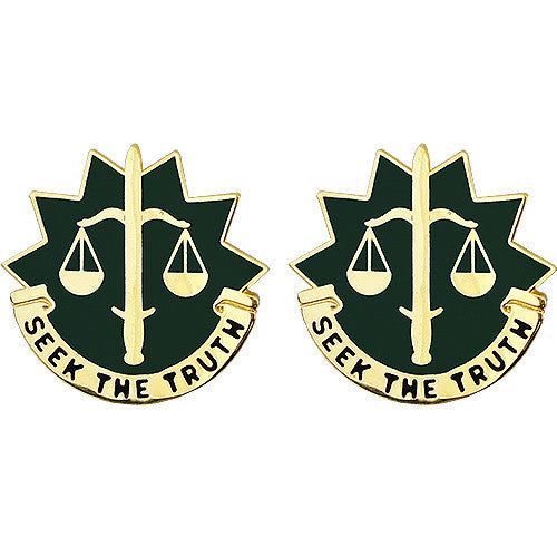 6th Military Police Group Unit Crest (Seek the Truth)