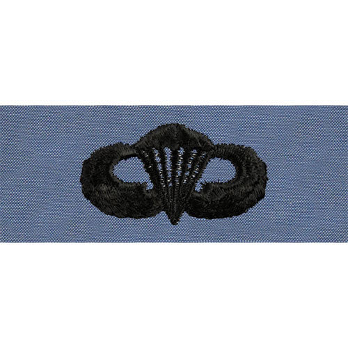 Navy Parachutist Embroidered Utility Breast Insignia - Basic