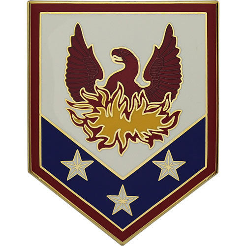 110th Maneuver Enhancement Brigade Combat Service Identification Badge