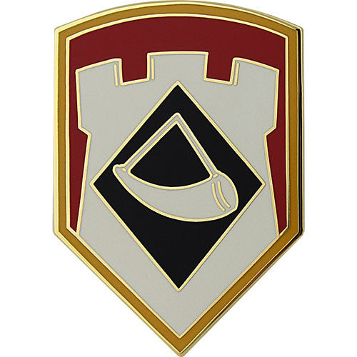 111th Engineer Brigade Combat Service Identification Badge