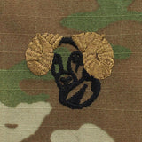 Army Rams Head OCP Sew On Badge