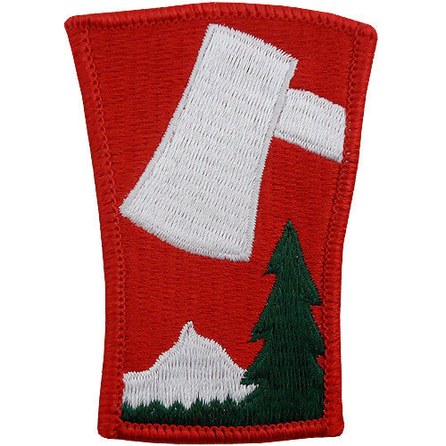 70th Infantry Division Class A Patch