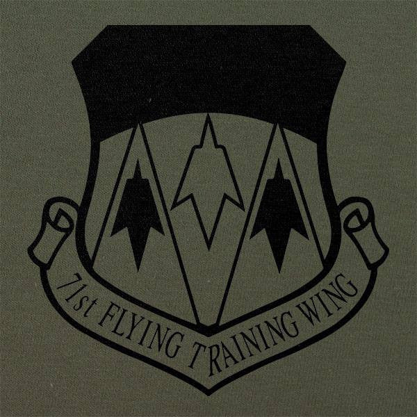 71st Flying Training Wing Subdued Patch T-Shirt