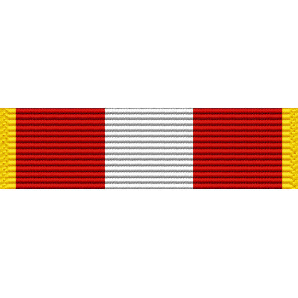 Alaska National Guard Community Service Medal Ribbon